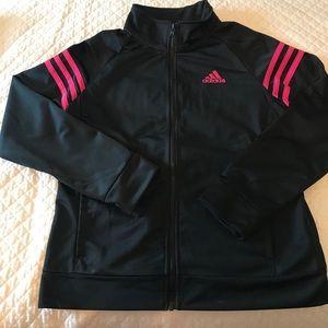 Girls Adidas track jacket size 15 NWOT!